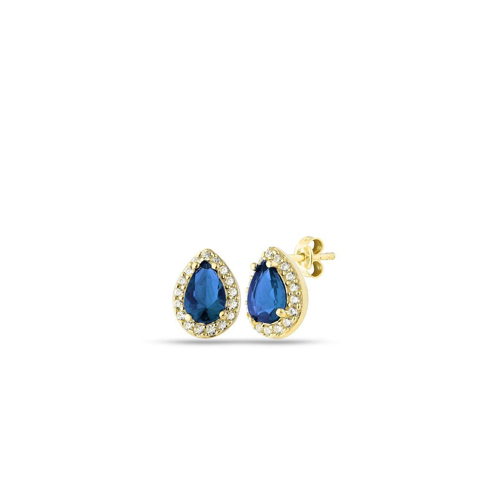 Glorria Silver Anturage Drop Earrings