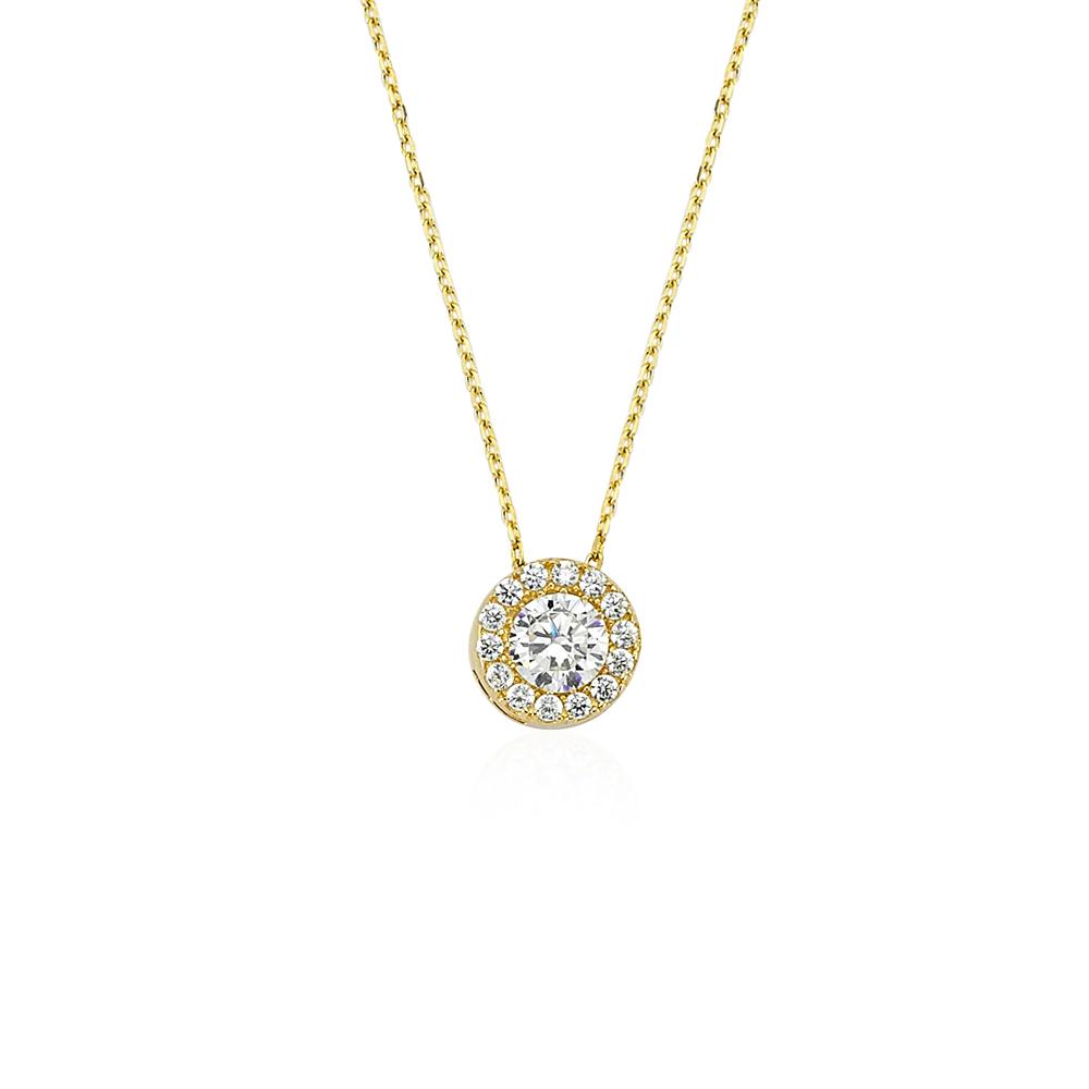 Gorria Gold Heart Necklace